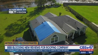 Employee reveals evidence Jacksonville roofer faked positive BBB reviews