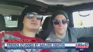 Friends stunned by sailors