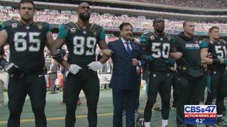 Jaguars apologize for 'not comprehending effect of national anthem…
