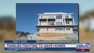 Families fighting to save homes on Ponte Vedra Beach