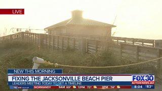 Fixing the Jacksonville Beach Pier
