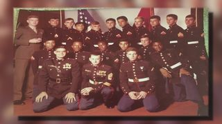 Retired U.S. Marine reunited with cherished photo in Nassau County