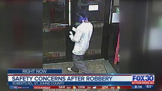 Safety concerns after second robbery at gas station in St. Johns County