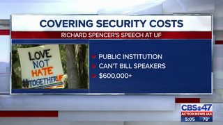 Covering security costs