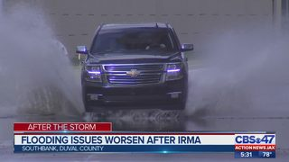 Flooding issues worsen after Irma