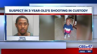 Suspect in 3-year-old