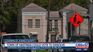 Town of Hastings could vote to dissolve
