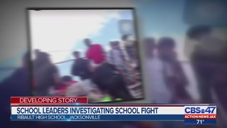 Video shows fighting during pep rally at Jacksonville high school