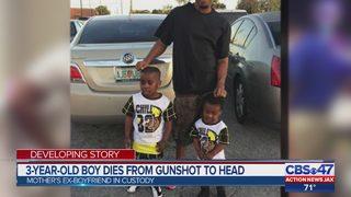 3-year-old shot in head dies; Jacksonville suspect in court