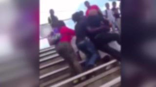Raw: Video shows fighting during pep rally at Jacksonville high school
