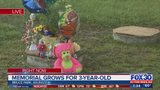 Memorial grows for 3-year-old drowned in city park septic tank