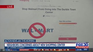 Local woman starts petition to stop Walmart at Durbin Park