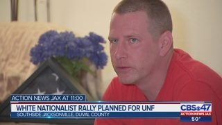 White nationalists supporting suspended UNF student