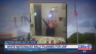 White supremacist protest planned at UNF to support suspended Nazi student