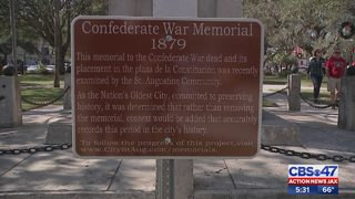 Protest calling for removal of Confederate monuments aims to impact St.…