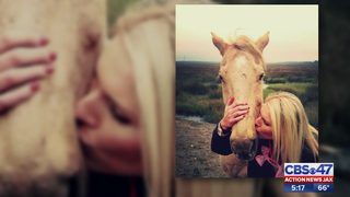 Woman says she will not rest until she finds who killed her horse