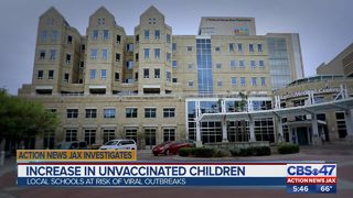 Action News Jax Investigates spike in unvaccinated students