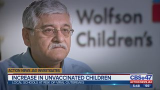 Action News Jax Investigates a spike in unvaccinated students