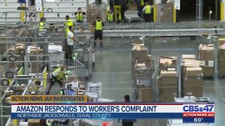 Amazon responds to worker
