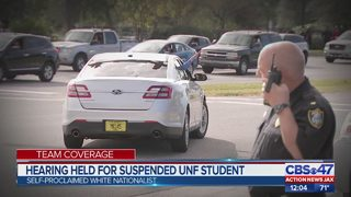 Hearing held for suspended UNF student