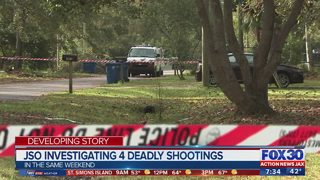 JSO investigating four deadly shootings
