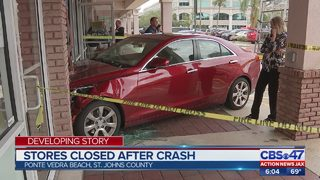 Car plows into UPS Store in Ponte Vedra Beach