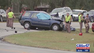 Fatal crash involving semitractor-trailer shuts down road in St. Johns County