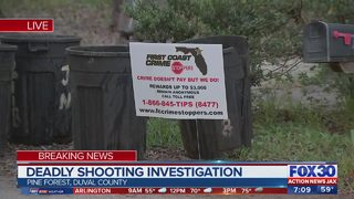 JSO investigating deadly shooting in Pine Forest neighborhood in Jacksonville