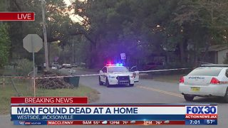 Man found dead at home in Jacksonville