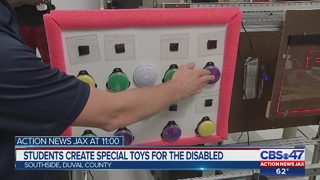Students create special toys for the disabled