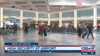 High security at airport