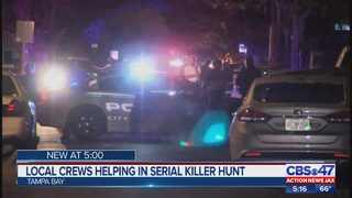 Local officers helping in serial killer hunt
