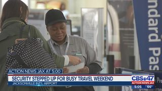 Security stepped at JIA for busy travel weekend