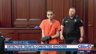 Florida officer taunts convicted shooter during sentencing