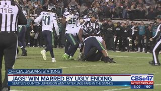 Jaguars investigating confrontation between fans, Seahawks player