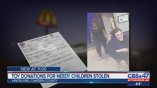 Thieves steal Christmas toys intended for children in Camden County