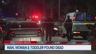 Jacksonville police: Man, woman, toddler found dead in Woodland Acres home