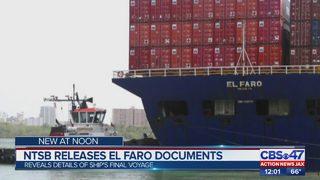 NTSB releases El Faro documents