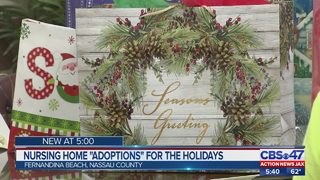 "Nursing home ""adoptions"" for the holidays"