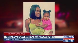 Family devastated after baby & parents