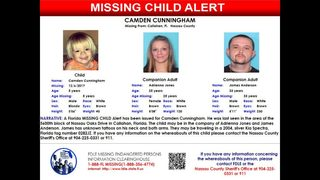 Missing child alert issued for Nassau County boy