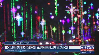 Girvin Road Christmas lights: Construction causing issues in Jacksonville neighborhood