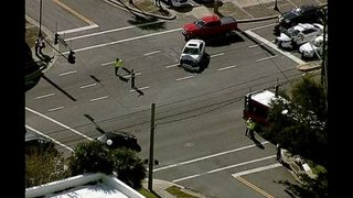 1 in critical condition in Jacksonville bus crash