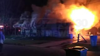 Exclusive video now part of a criminal investigation in Putnam County fire