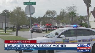 Jacksonville police: Woman shoots her mother at home off Atlantic Blvd.