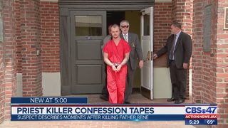Priest killer confession tapes