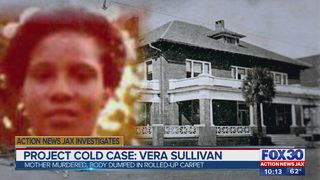 Action News Jax Sunday - Dec. 17, 2017: Project Cold Case: Vera Sullivan