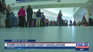 Outage at Atlanta airport affects Jacksonville flights