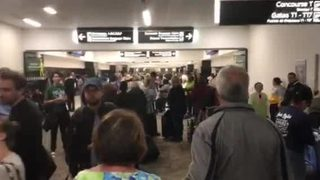 Power outage at Atlanta airport: Video 4