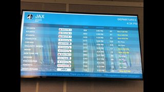Jacksonville flights canceled after outage at Atlanta airport